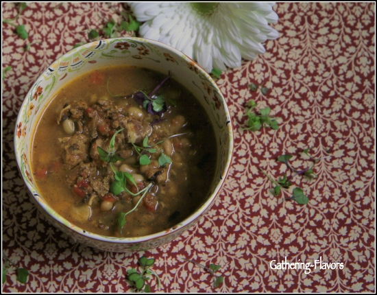 Cassoulet to Left Watermarked with Border