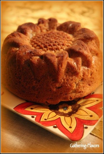 Sunflower Cake Gold Vignette Watermarked
