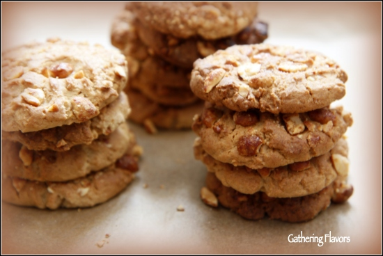 Watermarked Peanut Butter Crunch Cookies