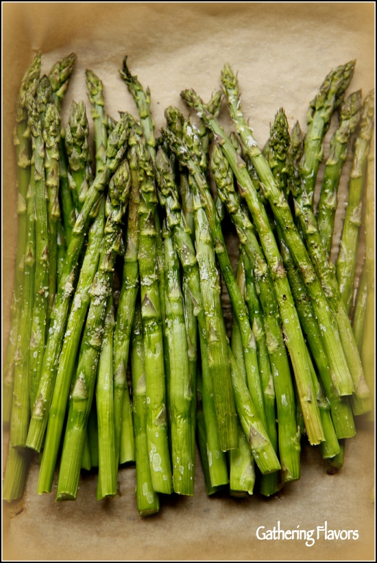 Simple Roasted Asparagus by Dena Testa Bray