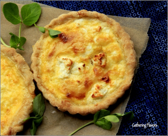Savory Tartlets for Spring and Summer by Dena T Bray