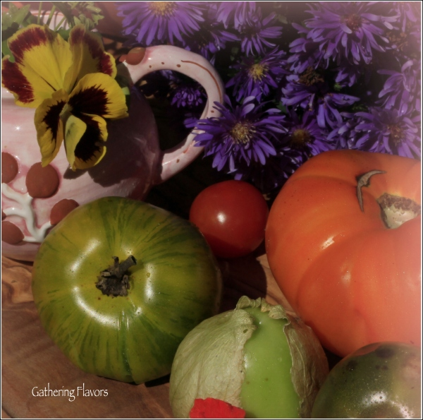 Heirloom Tomatoes by Dena T Bray