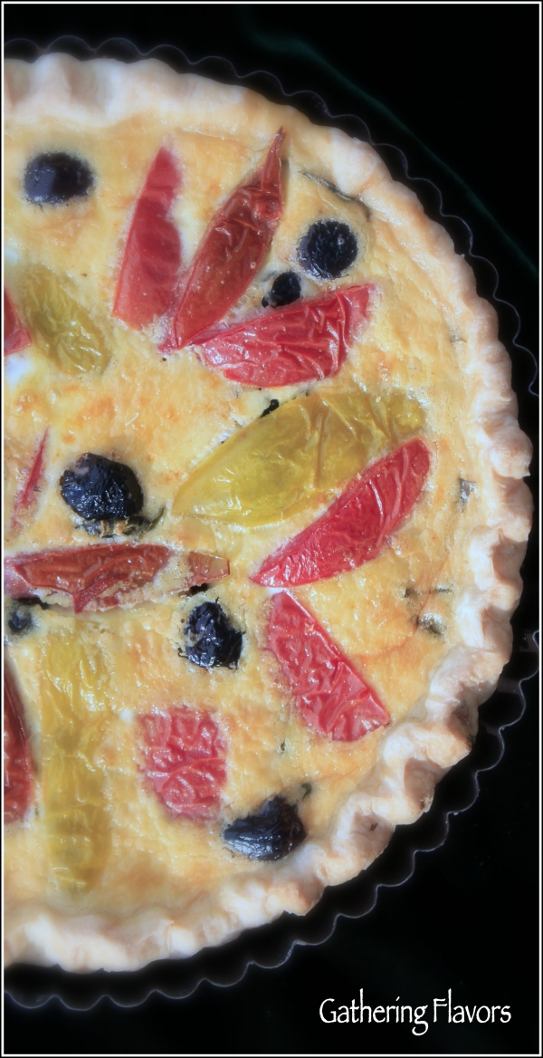 Heirloom Tomato Tart by Dena T Bray