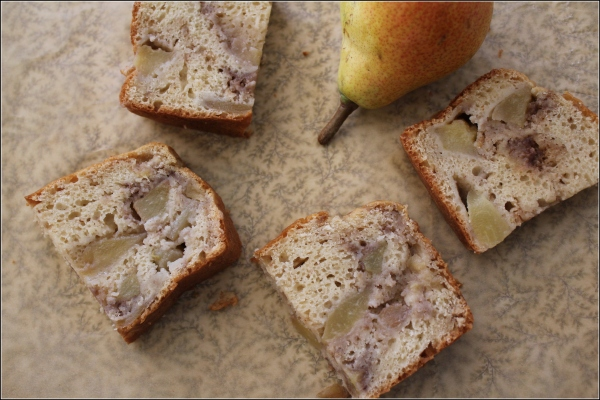 Pear Cake Slices by Dena T Bray