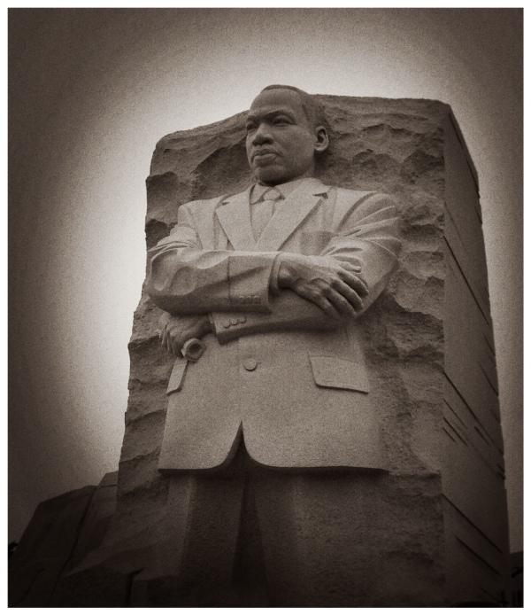 MLK Memorial Washington DC by Dena T. Bray
