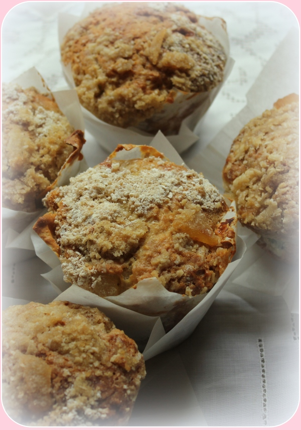 Oatmeal Muffins with White Vignette by Dena T Bray