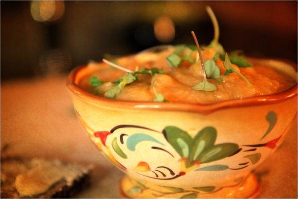 Vintage Potato Soup by Dena T Bray Ⓒ