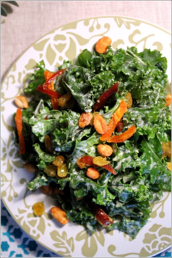 Winter Greens Salad by Dena T Bray Ⓒ