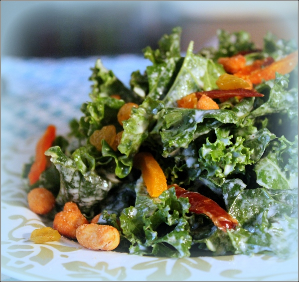 Kale Salad Light Vignette by Dena T Bray Ⓒ