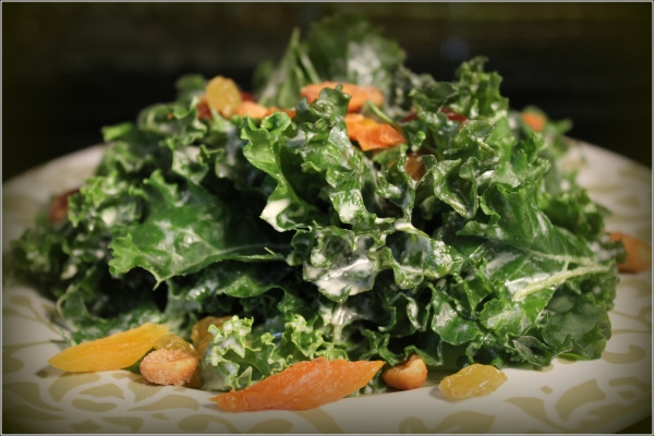 Kale Salad by Dena T Bray Ⓒ