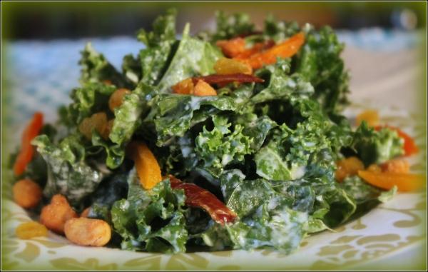 Kale Salad Vignette by Dena T Bray Ⓒ