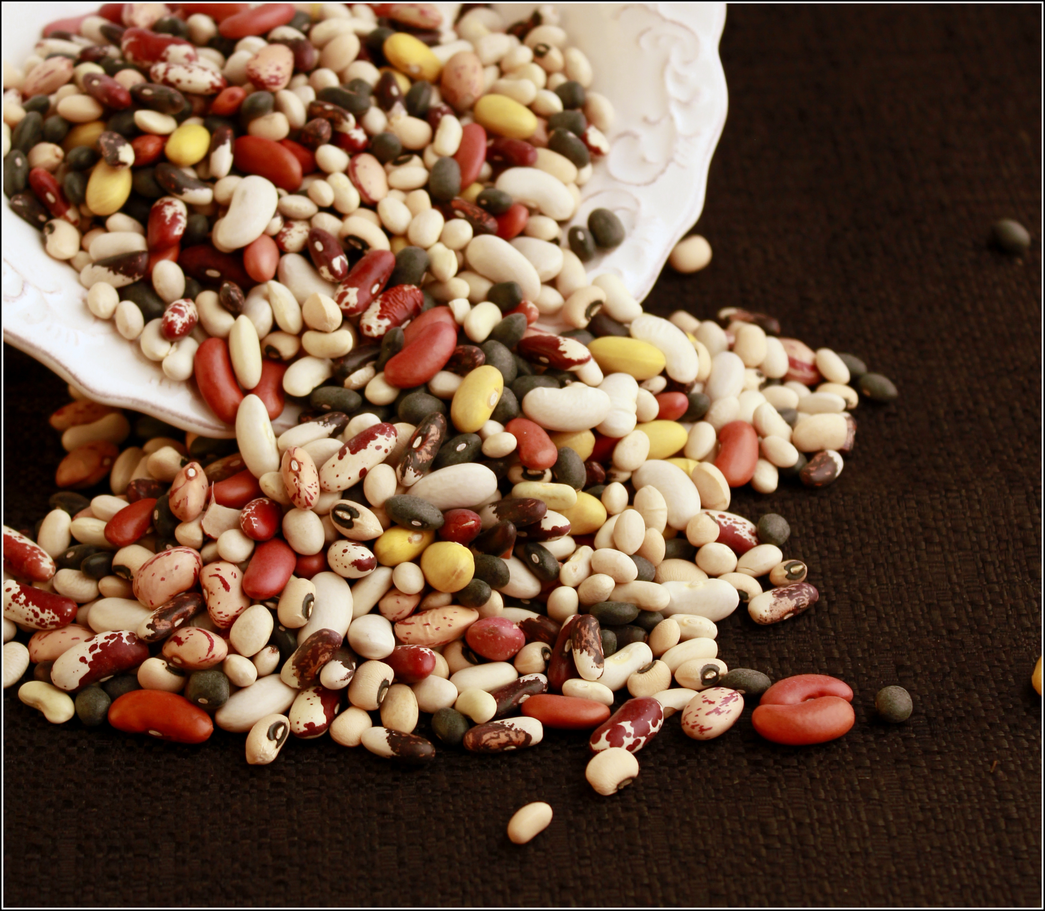 Beans Spilling by Dena T Bray©