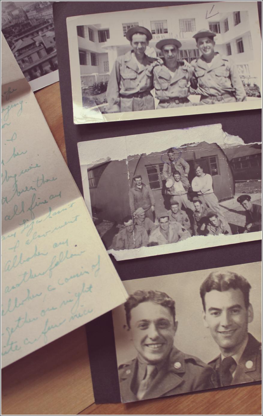 Abe Testa WWII Photos by Dena Testa Bray©