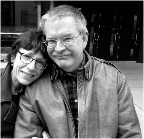 Al and Dena in B&W by Dena T Bray©