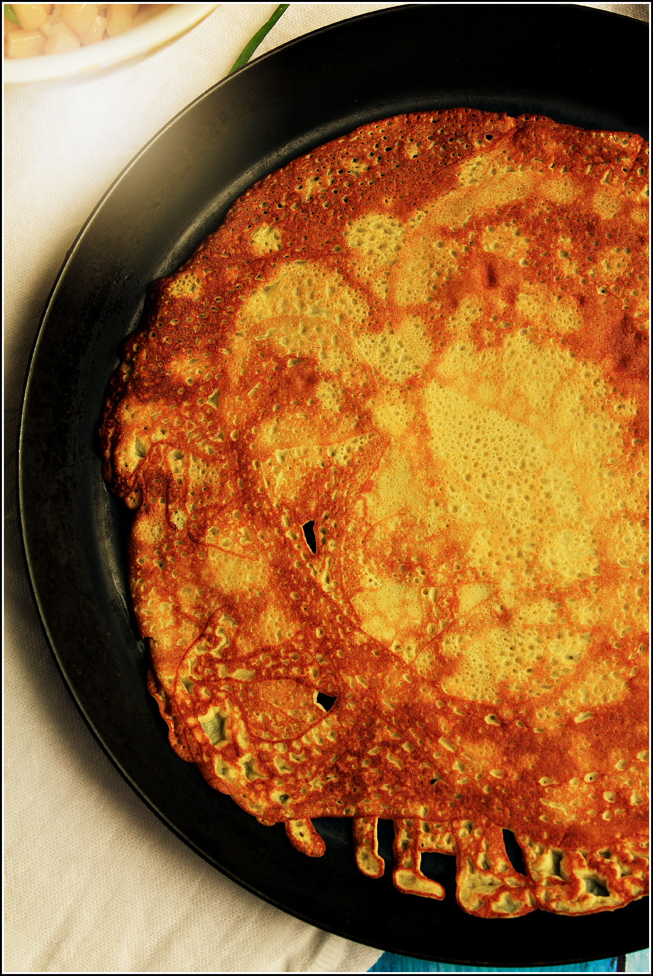 Simple Crepe in Pan by Dena T Bray©