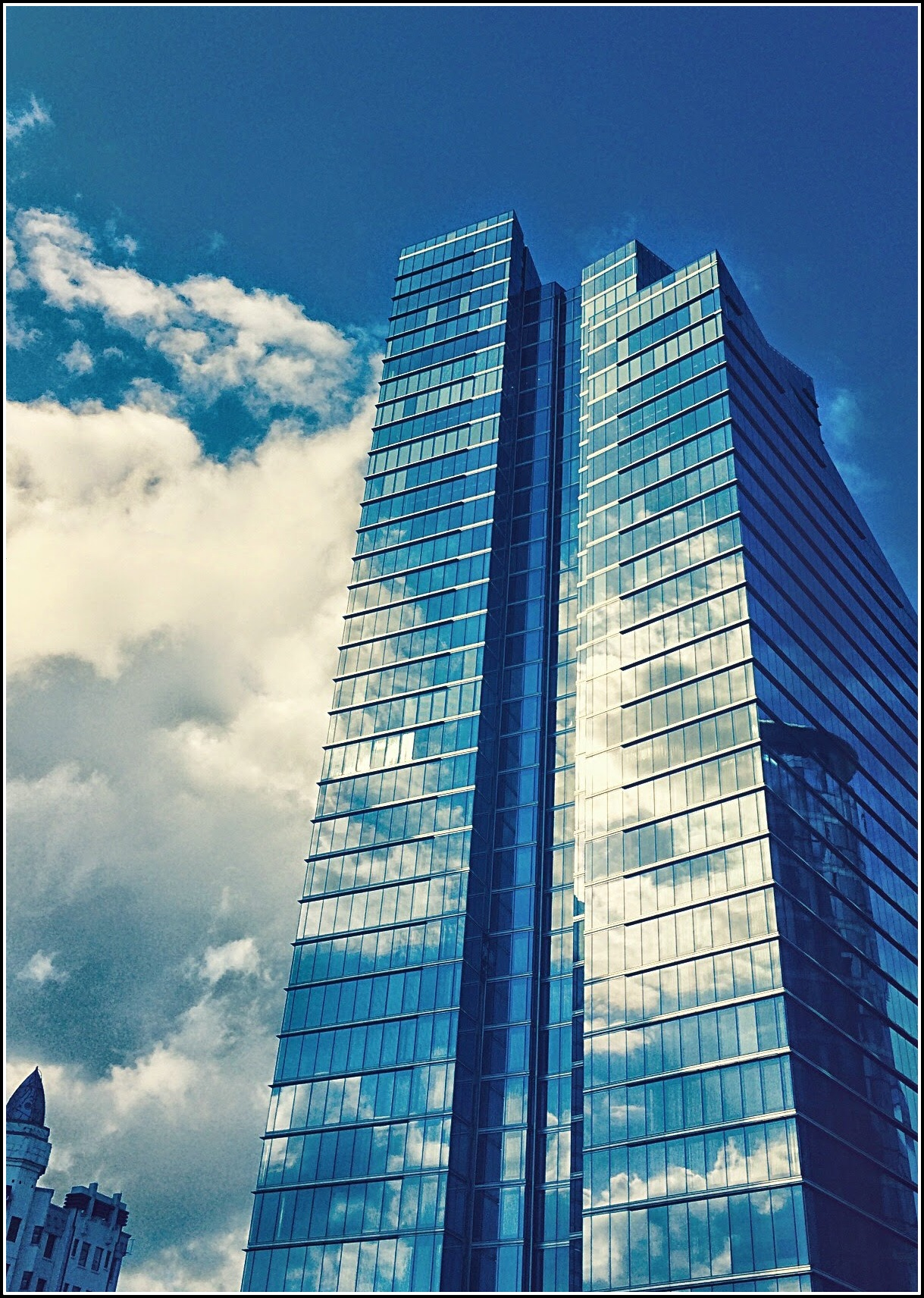 Towers and Clouds, Brussels by Dena T Bray©