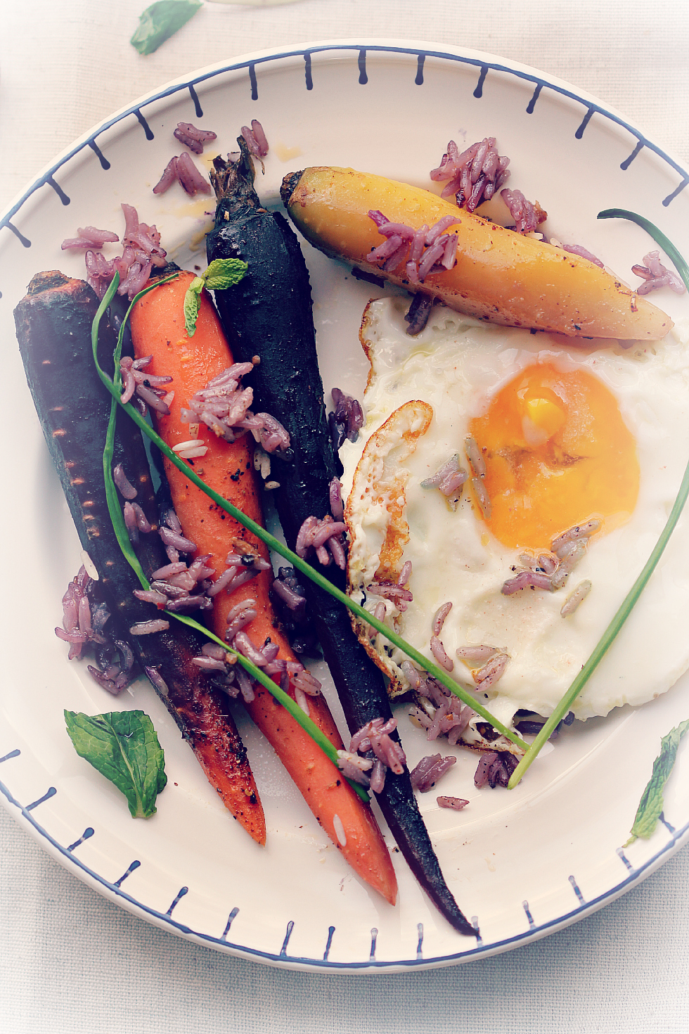 ©Braised Carrots and Rice with Egg by Dena T Bray