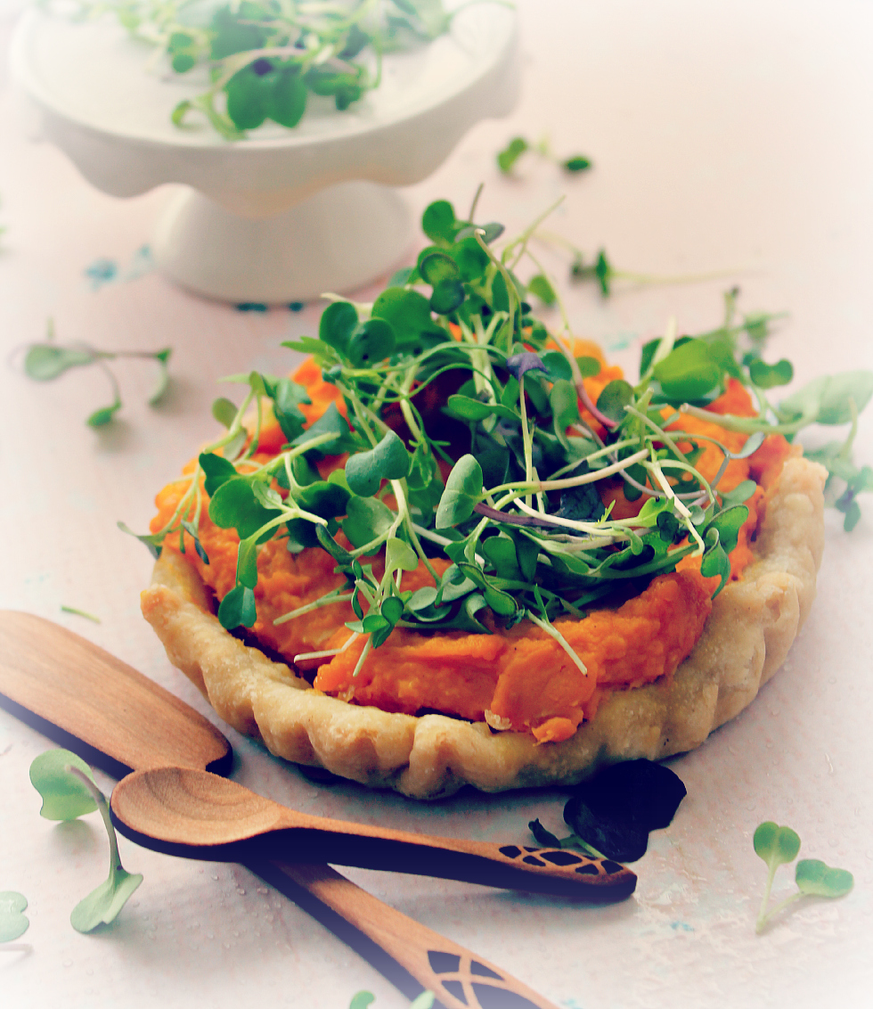 © Squash Tart with Spoons by Dena T Bray